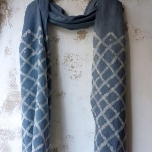 handmade textile scarf