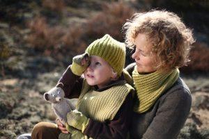 handmade textile hat for kids, scarfs