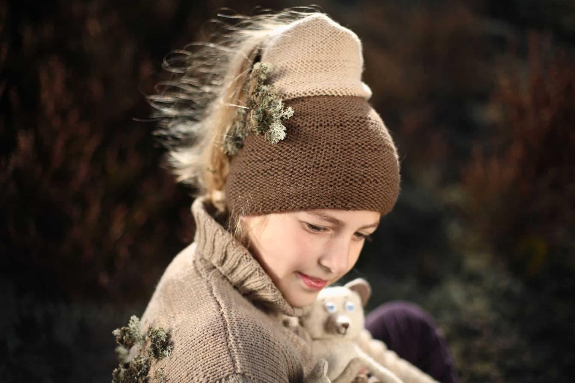 handmade textile hat