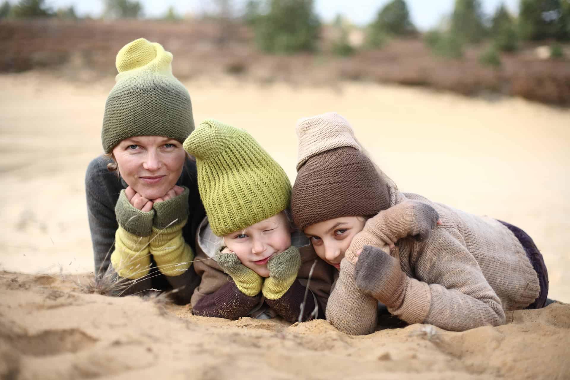 handmade textile hats, wirst warmers