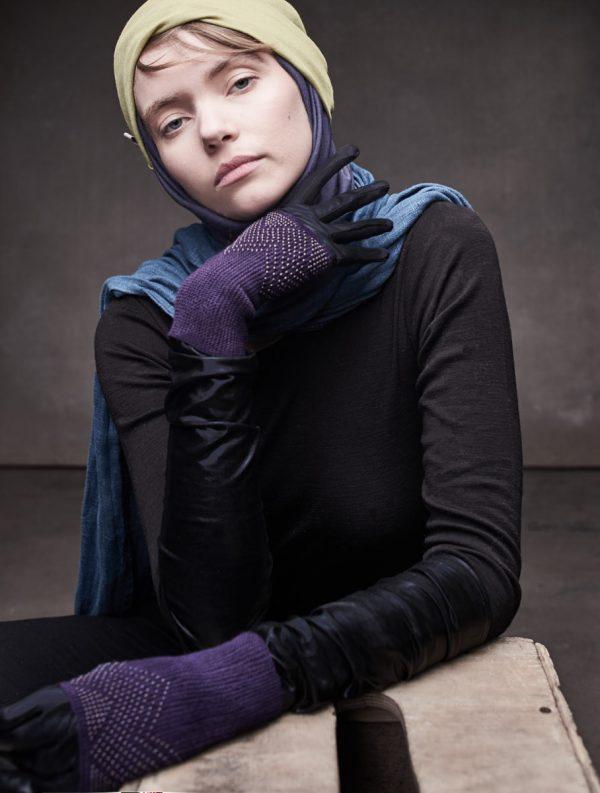 textile wrist warmers