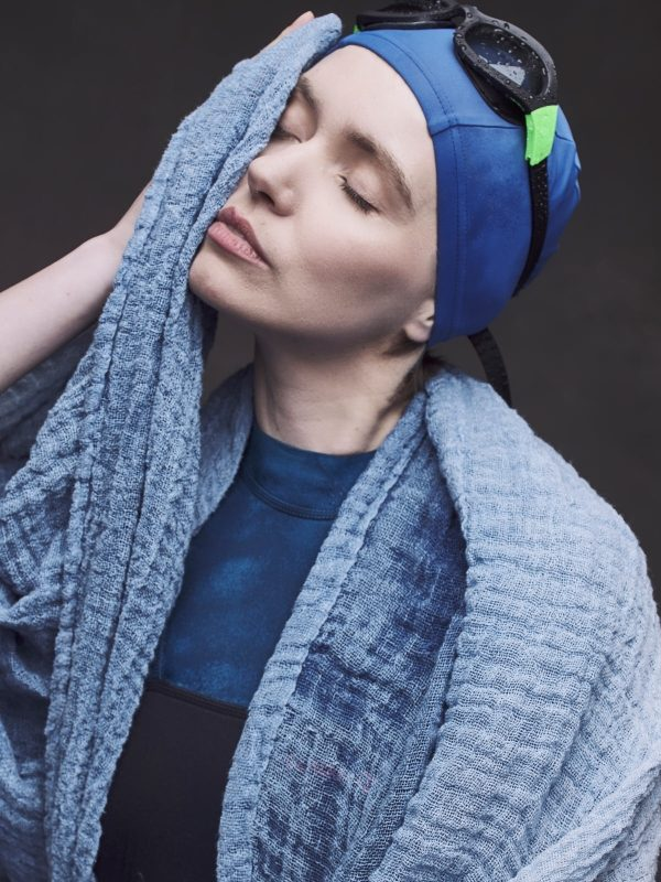 100% Linen Scarf - Dyed with plant dyes | BaltaBalta.com